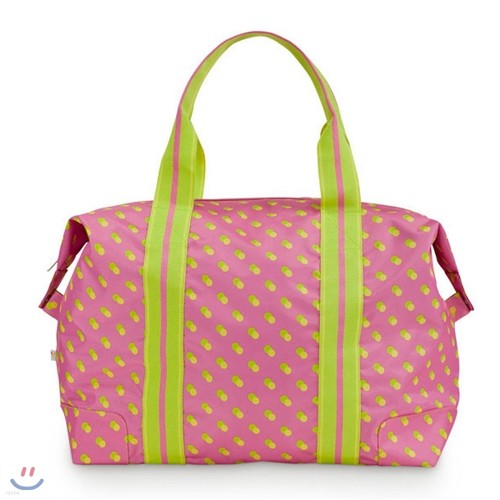 [ALL FOR COLOR] Travel Tote 여행가방 토트백 - Citrus Dot