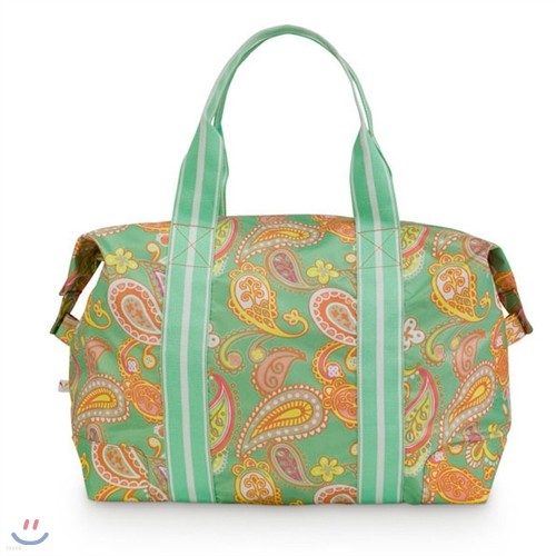 [ALL FOR COLOR] Travel Tote 여행가방 토트백 - Paisley Breeze