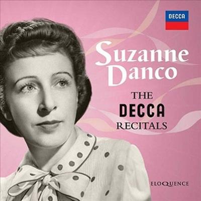 수잔 당코 - 데카 리사이틀 (Suzanne Danco - The Decca Recitals) (8CD Boxset) - Suzanne Danco