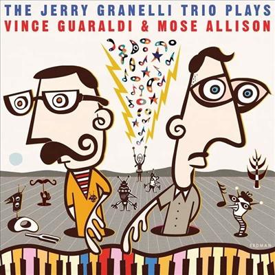 Jerry Granelli Trio - Plays Vince Guaraldi & Mose Allison (Vinyl LP)