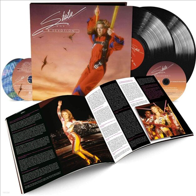 Sheila & B. Devotion - King Of The World (40th Anniversary)(2LP+2CD+DVD Hardcover Book Box Set)