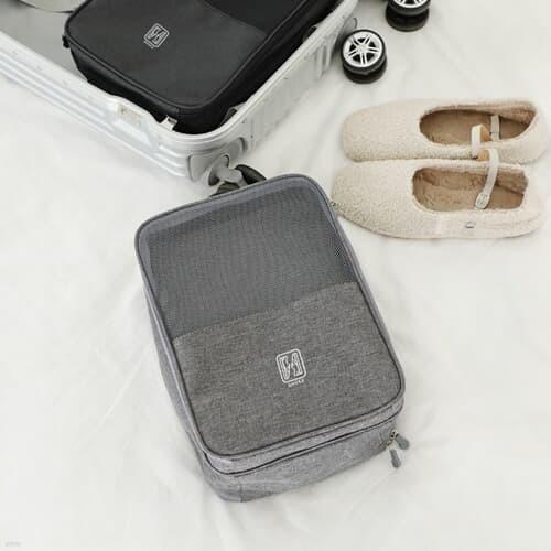 슈즈온 양면 멀티 신발파우치 (그레이) / 여행용 가방