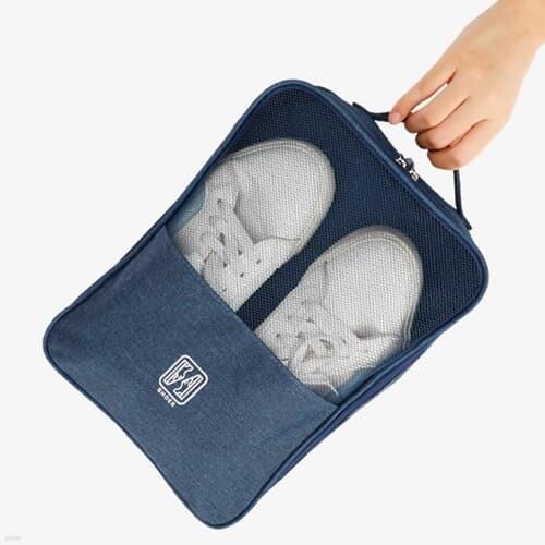 슈즈온 양면 멀티 신발파우치 (네이비) / 여행용 가방