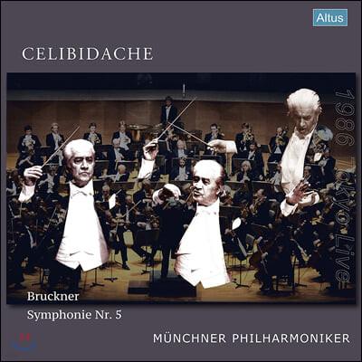 Sergiu Celibidache 브루크너: 교향곡 5번 (Bruckner: Symphony No.5) [3LP]