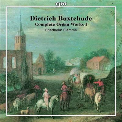 북스테후데: 오르간 작품 1집 (Buxtehude: Works for Organ Vol.1) (2SACD Hybrid) - Friedhelm Flamme