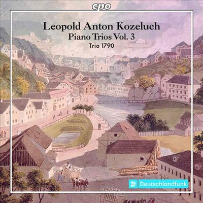 코젤루흐: 피아노 삼중주 8, 11 & 12번 (Kozeluch: Piano Trios Nos.8, 11 & 12) - Trio 1790