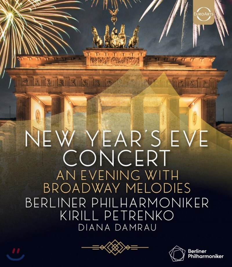 Kirill Petrenko 베를린필 송년 음악회 2019 (New Year's Eve Concert 2019 - An Evening With Broadway Melodies) [Blu-ray]