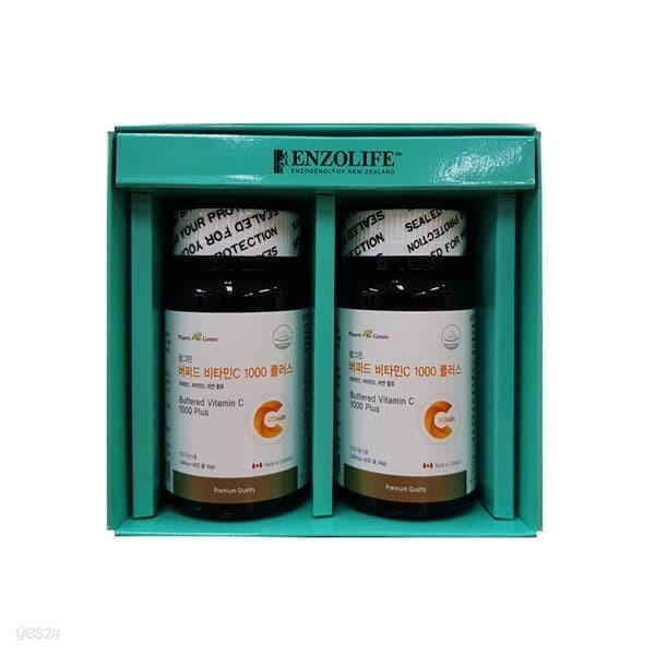팜그린 버퍼드 비타민C 2종 선물세트(백화점 선물포장+쇼핑백포함)