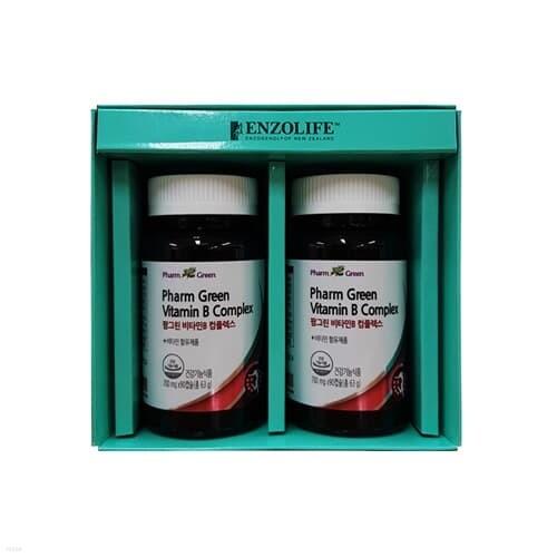 팜그린 비타민B 컴플렉스 2종 선물세트(백화점 선물포장+쇼핑백포함)