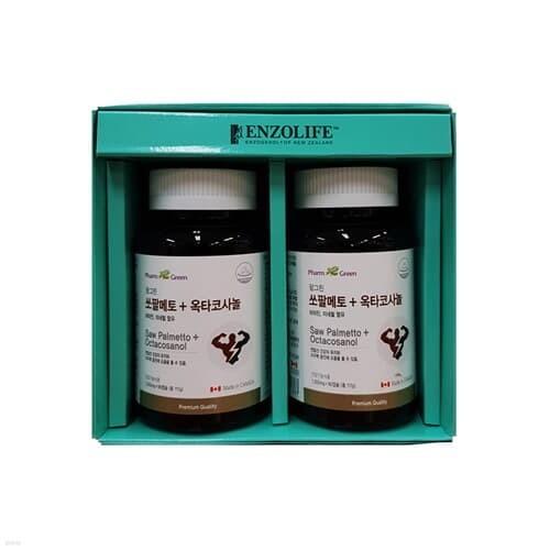 팜그린 쏘팔메토 2종 선물세트(백화점 선물포장+쇼핑백포함)