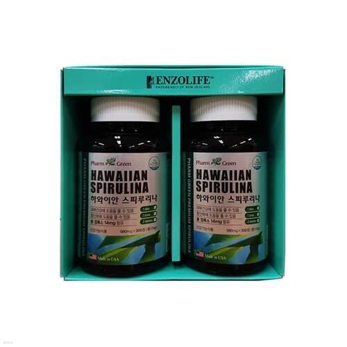 팜그린 스피루리나 2종 선물세트(백화점 선물포장+쇼핑백포함)