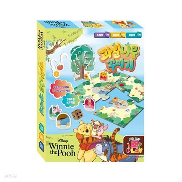 디즈니 푸우 과일나무 꾸미기 보드 게임