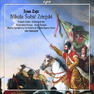이반 차이츠: 오페라 '니콜라 슈비츠 즈린스키' (Ivan Zajc: Opera 'Nikola Subic Zrinjski') (2CD) - Ville Matvejeff