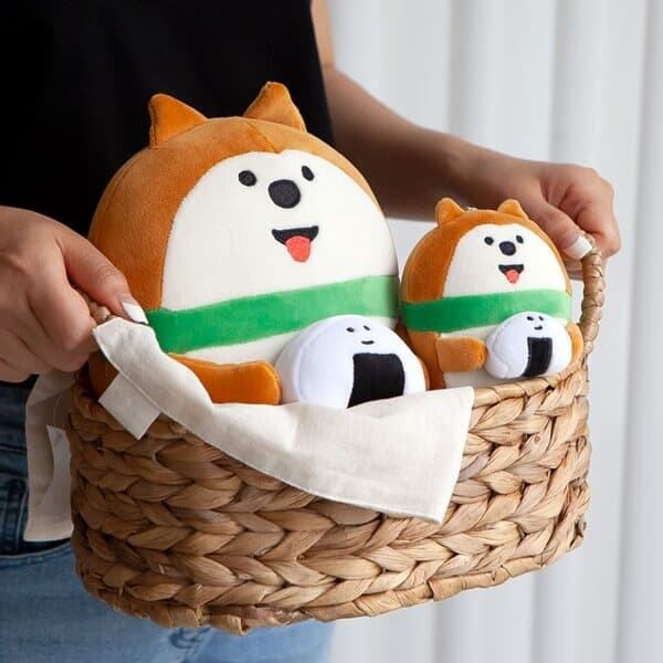 데꼴 쫀득 미니쿠션 인형 강아지