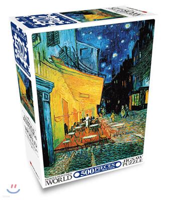 세계의 명화 직소퍼즐 500pcs 밤의 카페테라스
