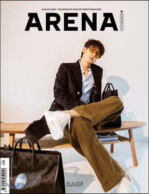ARENA HOMME+ 아레나 옴므 플러스 B형 (월간) : 8월 [2020]