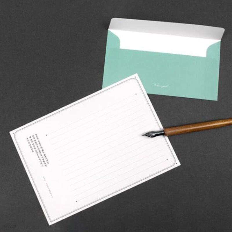 시인의 편지 (편지지 + 봉투 세트) 6종