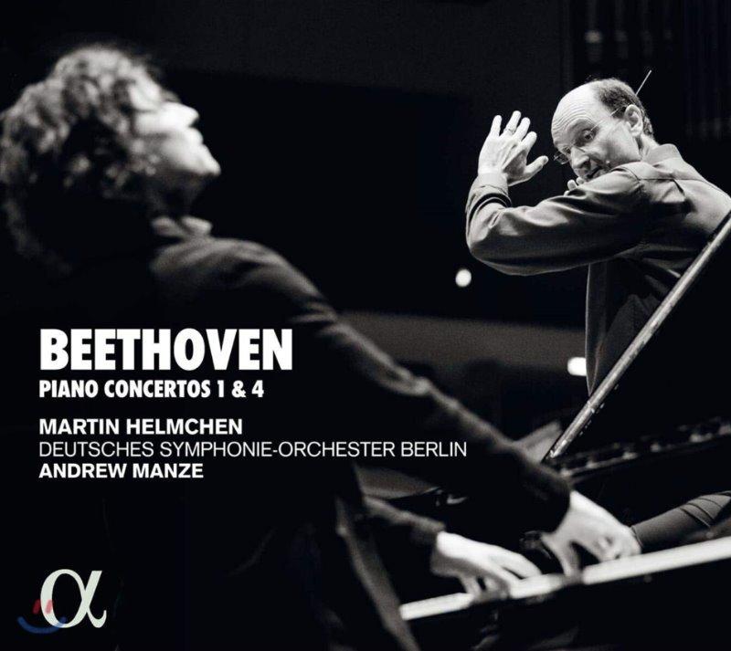 Martin Helmchen / Andrew Manze 베토벤: 피아노 협주곡 1, 4번 (Beethoven: Pianos Concertos Op.15, 58)