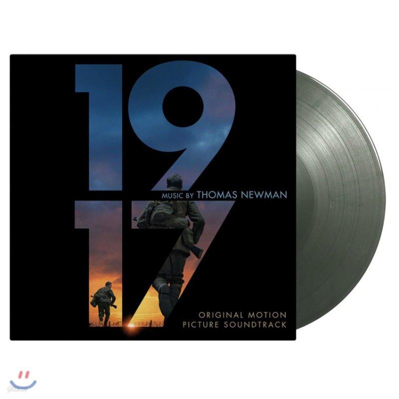 1917 영화음악 (1917 OST by Thomas Newman 토마스 뉴먼) [풀메탈재킷 컬러 2LP]