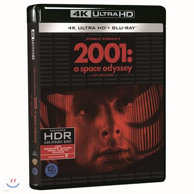 2001: 스페이스 오디세이 (4K UHD + BD) : 블루레이