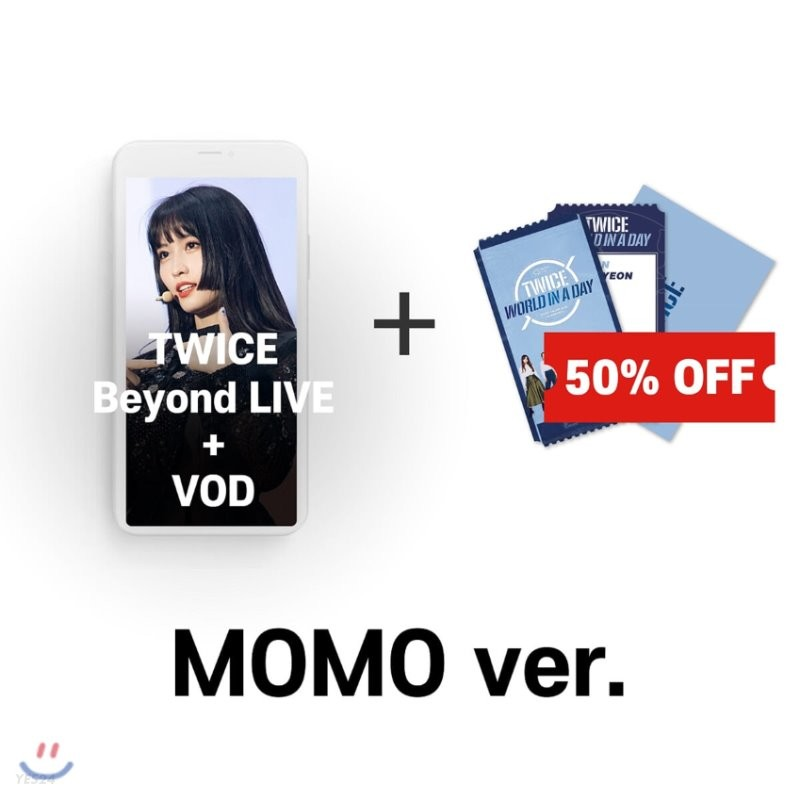 [모모] TWICE Beyond LIVE +VOD관람권 + SPECIAL AR TICKET SET
