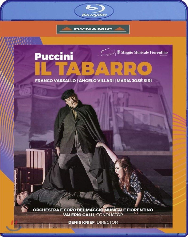 Valerio Galli 푸치니: 오페라 `일 트리티코` 중 `외투` (Puccini: Il Tabarro)