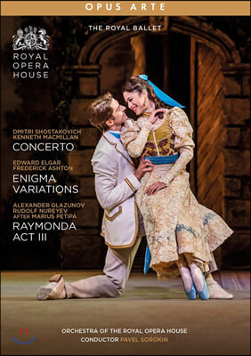 The Royal Ballet 로열 발레 - 맥밀란: 콘체르토 / 애쉬튼: 수수께끼 변주곡 / 누레예프: 레이몬다 3막 (Concerto, Enigma & Raymonda)