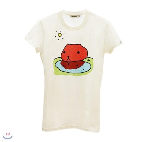 [카피바라상] 카피바라상 여성용 반팔티셔츠 Style NO. 009