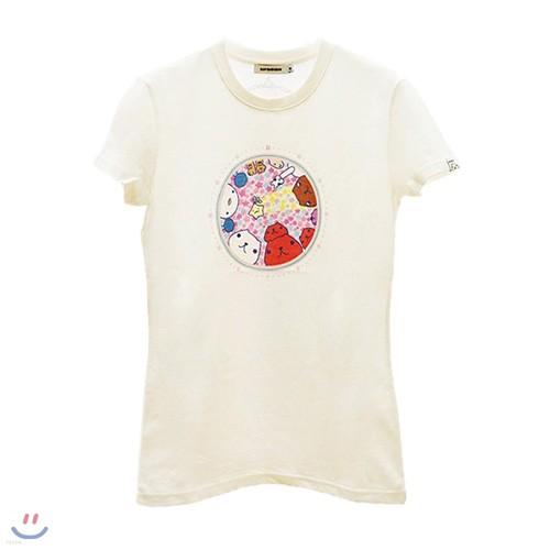 [카피바라상] 카피바라상 여성용 반팔티셔츠 Style NO. 006