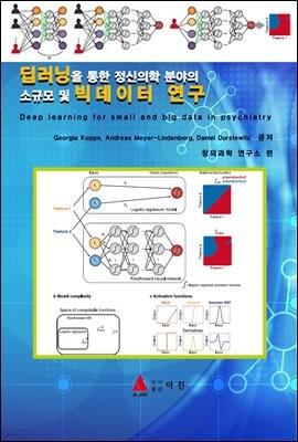 딥러닝을 통한 정신의학 분야의 소규모 및 빅데이터 연구