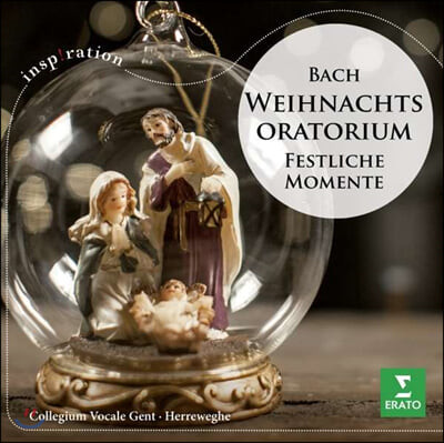 Philippe Herreweghe 바흐: 크리스마스 오라토리오(하이라이트) (Bach: Weihnachtsoratorium BWV 248 (Ausz.))