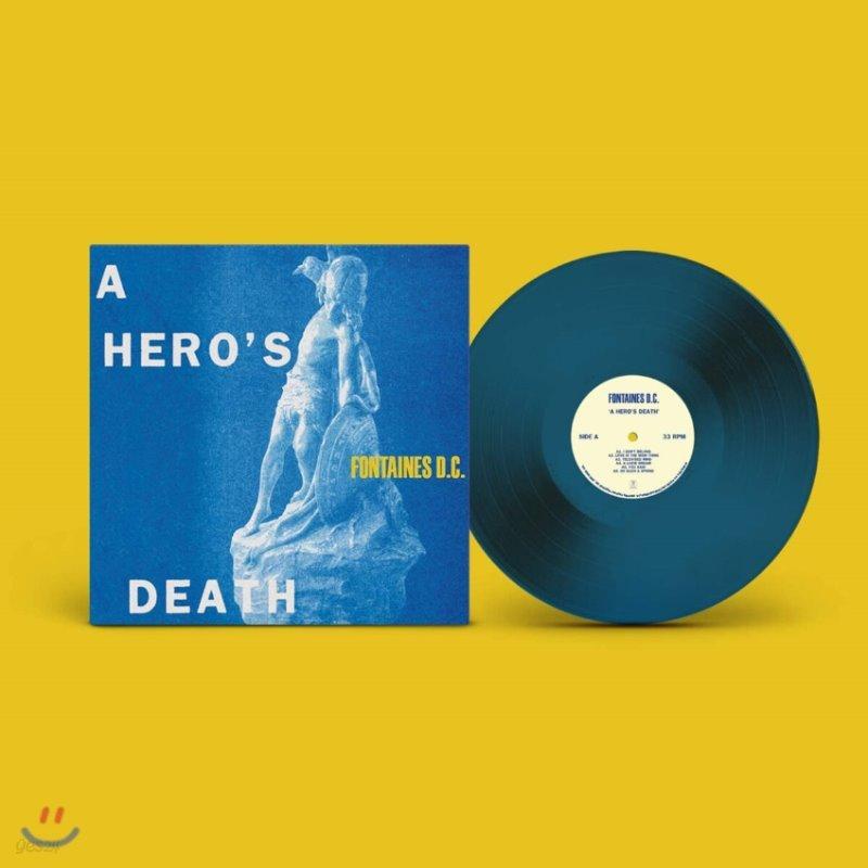 Fontaines D.C. (퐁텐 디씨) - A Hero's Death [블루 컬러 LP]