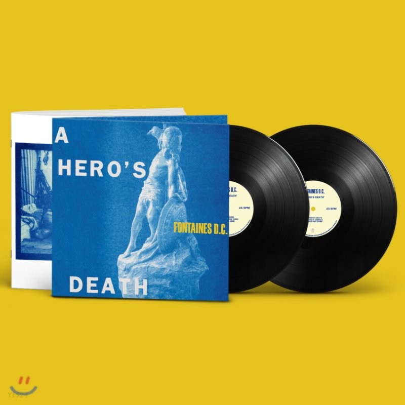 Fontaines D.C. (퐁텐 디씨) - A Hero's Death (Deluxe) [2LP]