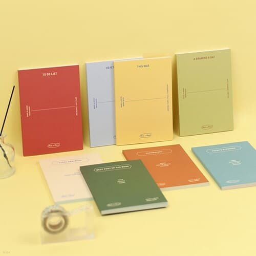 [paperian] 메이크 어 메모 메모북