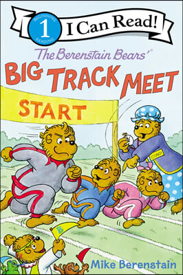 I Can Read Level 1 : The Berenstain Bears' Big Track Meet
