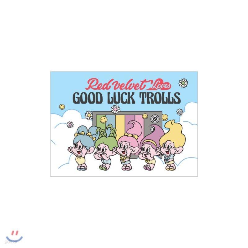 레드벨벳(Red Velvet Loves GOOD LUCK TROLLS) - POSTCARD_B