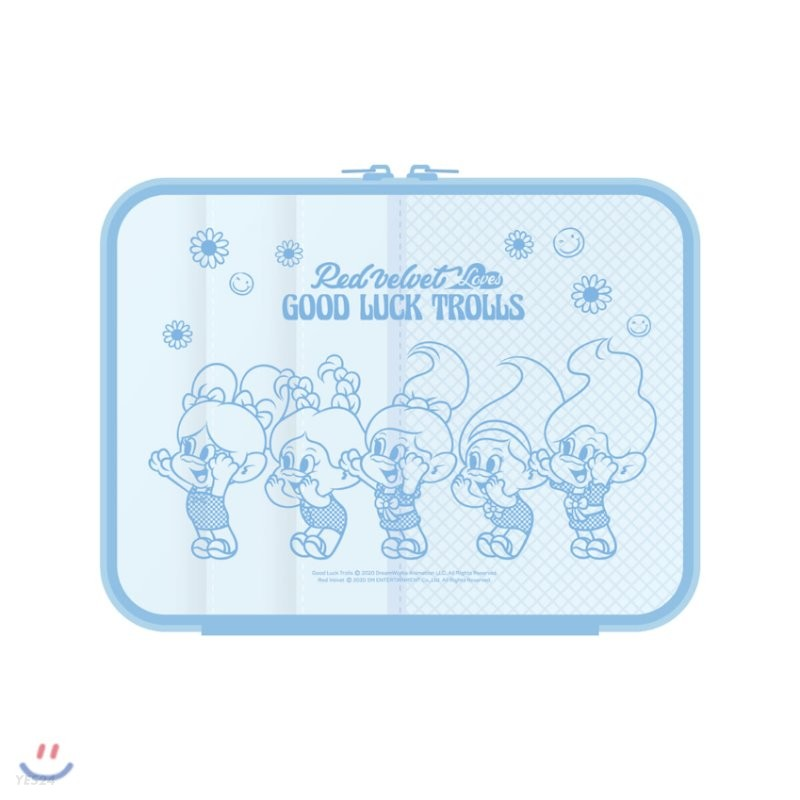 레드벨벳(Red Velvet Loves GOOD LUCK TROLLS) - TABLET POUCH
