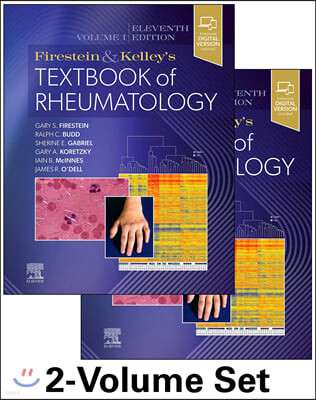 Firestein & Kelley's Textbook of Rheumatology,11/E (2Vols. Set)