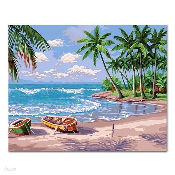 DIY 페인팅 하와이의 해변 PL42 (40x50)