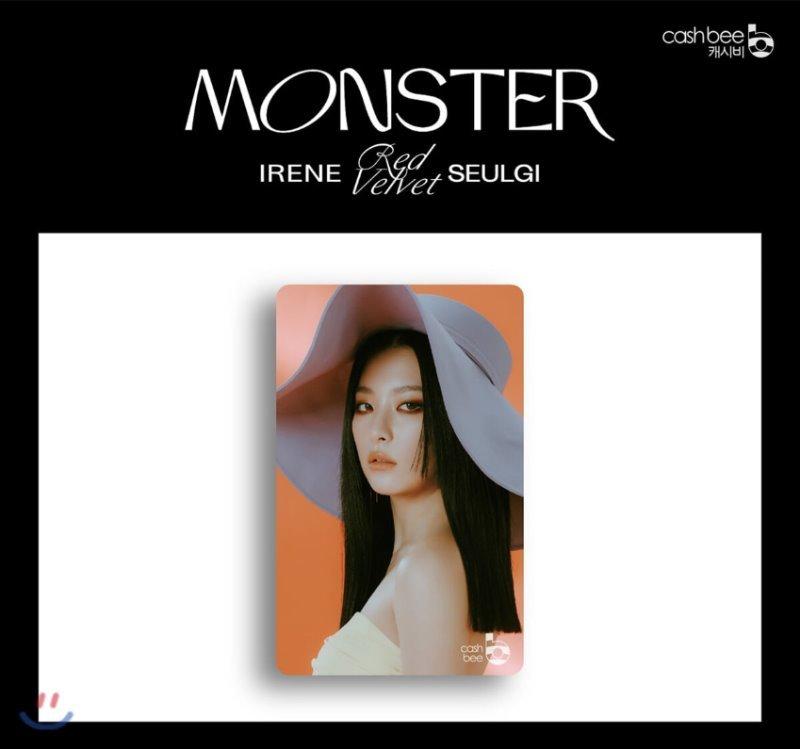 레드벨벳-아이린&슬기(Red Velvet - IRENE & SEULGI) - 캐시비 교통카드 (슬기 ver)