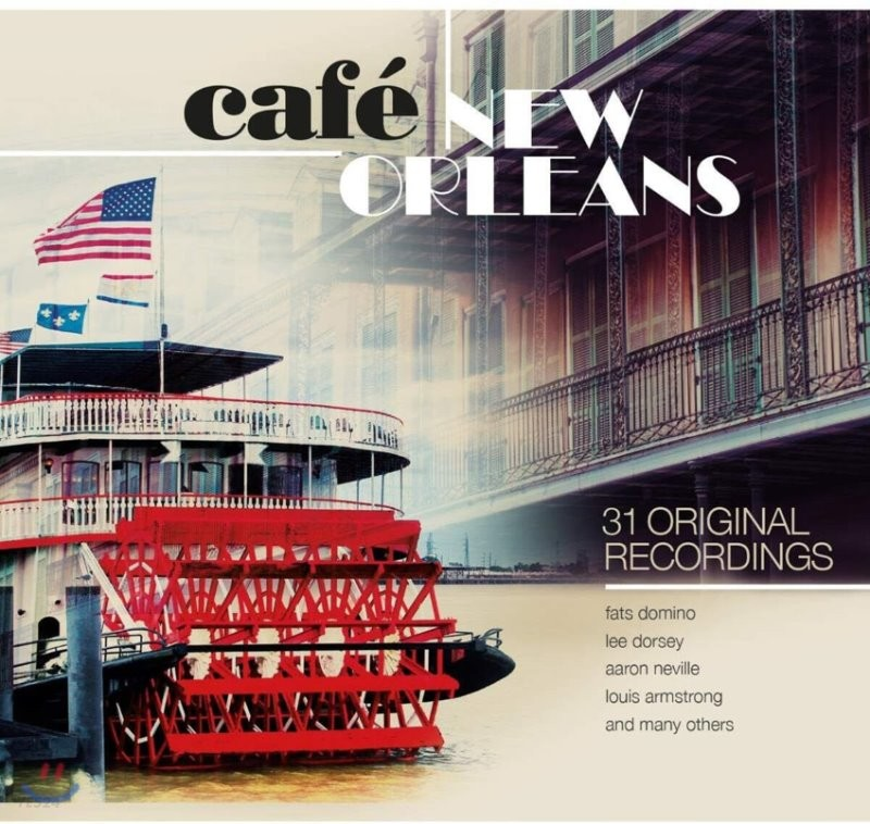 카페 뉴 올리언스 (Cafe New Orleans: 31 Original Recordings)