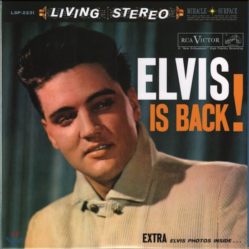 Elvis Presley (엘비스 프레슬리) - Elvis is Back! [2LP]