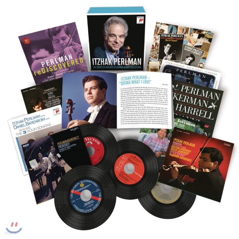 이차크 펄만 RCA & 컬럼비아 녹음 전집 (Itzhak Perlman - The Complete RCA and Columbia Album Collection)