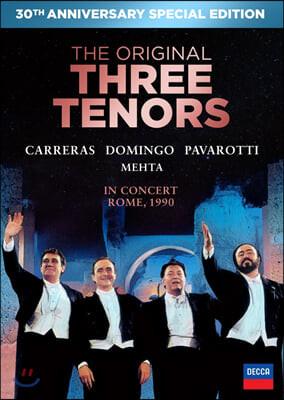 Jose Carerras / Placido Domingo / Luciano Pavarotti 쓰리 테너 로마 월드컵 공연 30주년 기념 앨범 [CD+DVD]