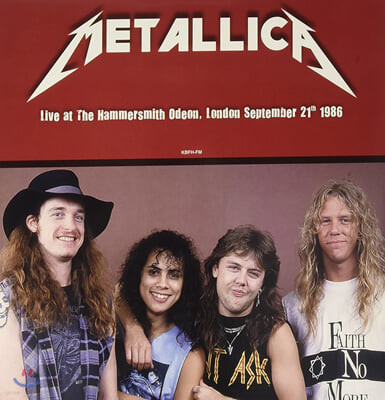 Metallica (메탈리카) - Live at The Hammersmith Odeon London September 21th 1986 [LP]