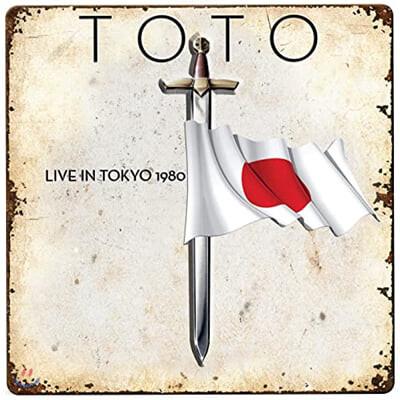 Toto (토토) - Live in Tokyo 1980 [레드 컬러 LP]