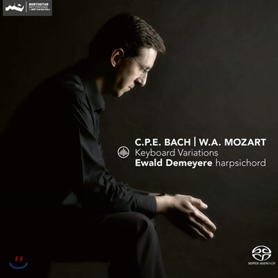 Ewald Demeyere 모차르트 / 칼 필립 에마누엘 바흐: 건반 변주곡 (C.P.E. Bach / Mozart: Keyboard Variations)