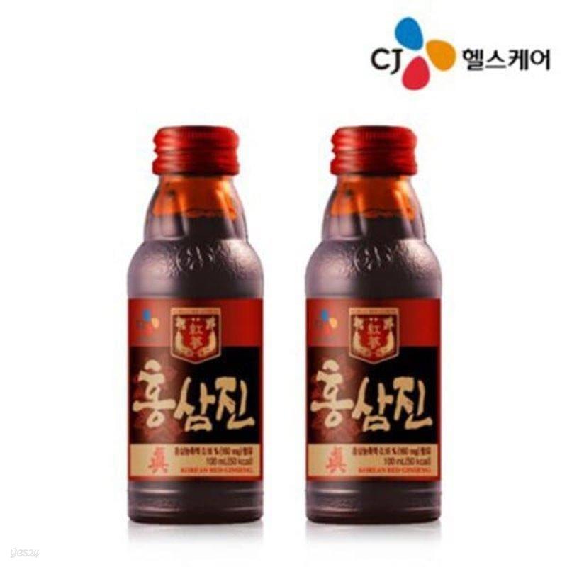 CJ 홍삼진100mL 10병