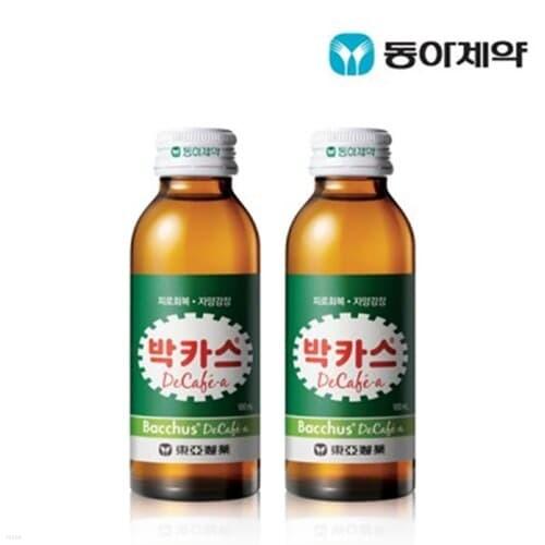 동아제약 박카스 디카페에이 100mL 10병