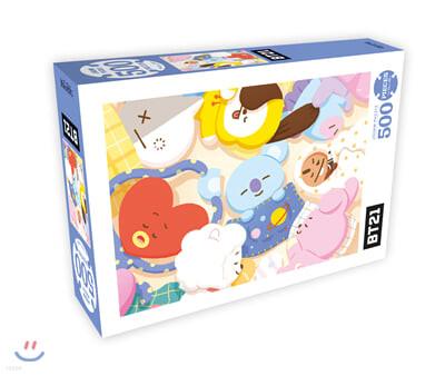BT21 500피스 직소퍼즐 낮잠